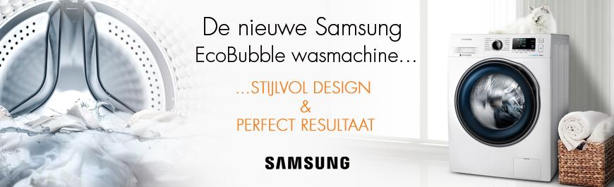 Samsung EcoBubble WW6000 serie wasmachine