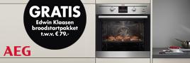 AEG PlusSteam oven actie