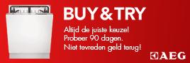 AEG vaatwassers 90 dagen Buy & Try
