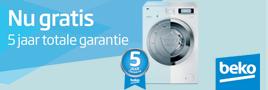 Beko ProSmart wasmachines garantie actie
