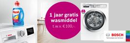 Bosch wasmachine actie