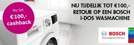 Bosch I-Dos wasmachines actie