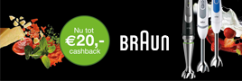 Braun staafmixers cashback