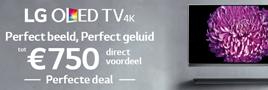 LG TV actie