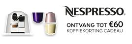 Nespresso Koffiekorting