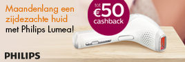 Philips beauty producten cashback