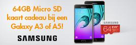Samsung Galaxy A3 en A5 actie