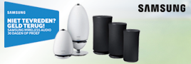 Samsung Wireless Speaker actie
