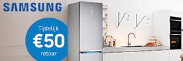 Samsung koelkast cashback