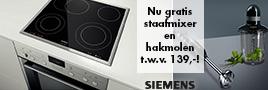 Siemens kookplaten actie