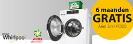 Whirlpool wasmachine actie