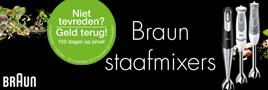 Braun niet tevreden geld terug actie