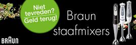 Braun staafmixer actie
