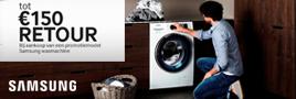 Samsung wasmachine cashback
