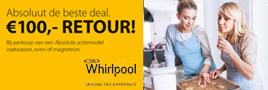 Whirlpool cashback 'Absolute inbouw apparaten'