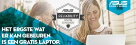 Asus Reliability actie