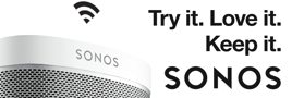 Probeer Sonos nu 100 dagen uit