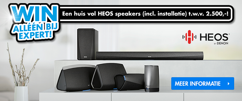 Win een huis vol HEOS speakers!