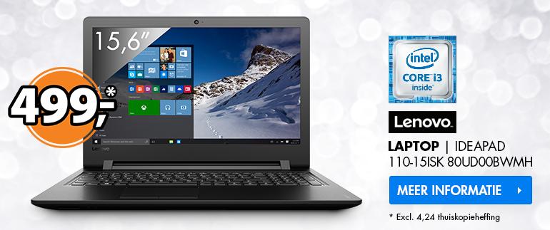 Lenovo laptop: Nu 499,-!