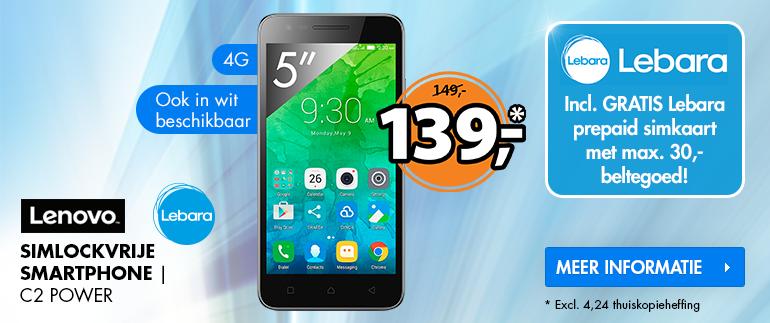 Lenovo smartphone: Nu 139,-!