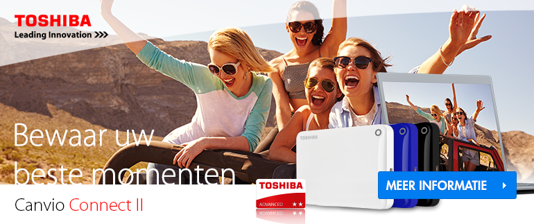 Toshiba Canvio Connect II hardeschijven
