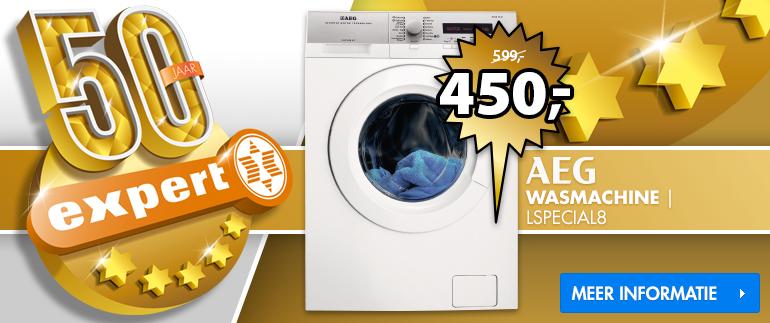AEG wasmachine: nu 450,-