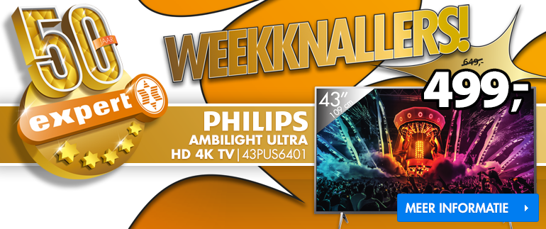 Philips ULTRA HD 4K TV: nu 499,-