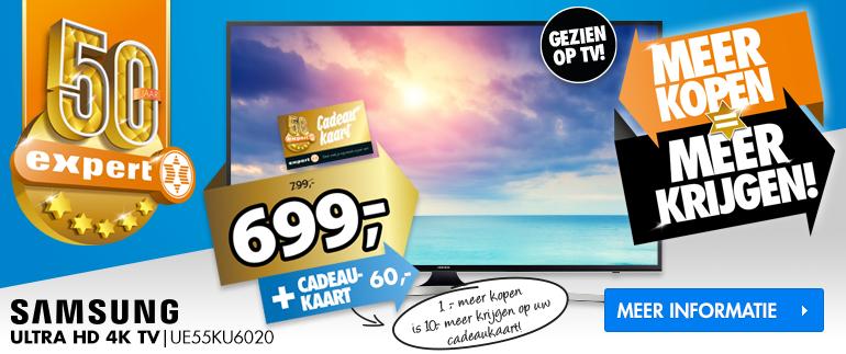 Samsung Ultra HD 4K tv: Nu 699,-