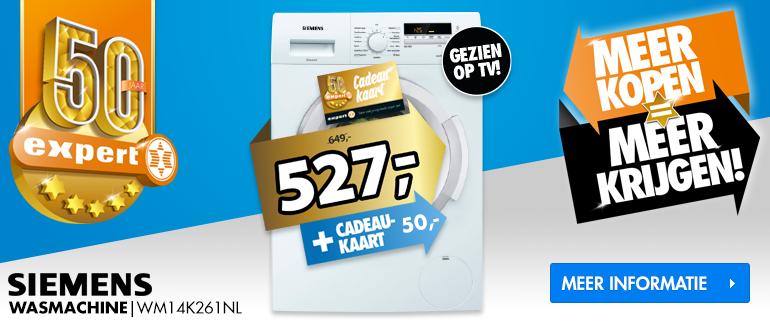 Siemens wasmachine: 527,-