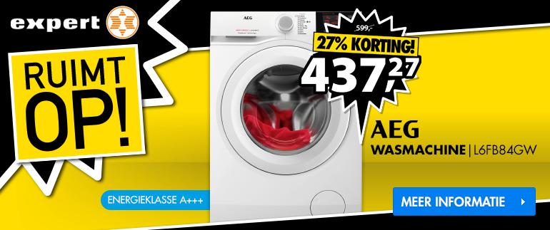 AEG Wasmachine: Nu 437,27!
