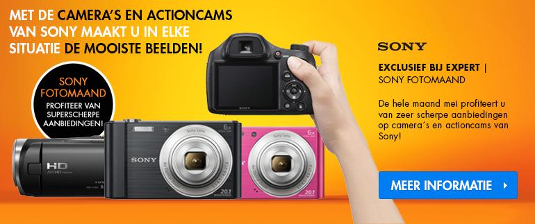 Sony fotomaand!