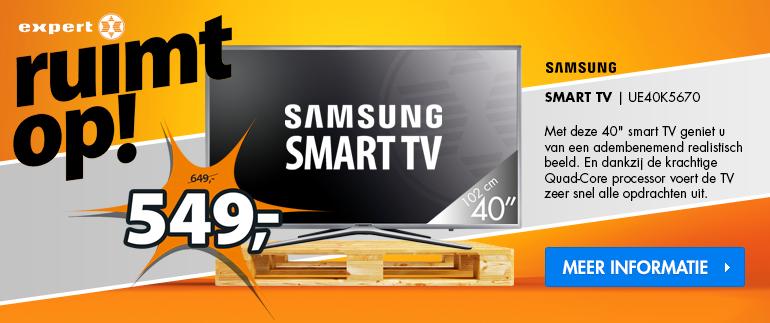 Samsung TV: Nu 549,-!