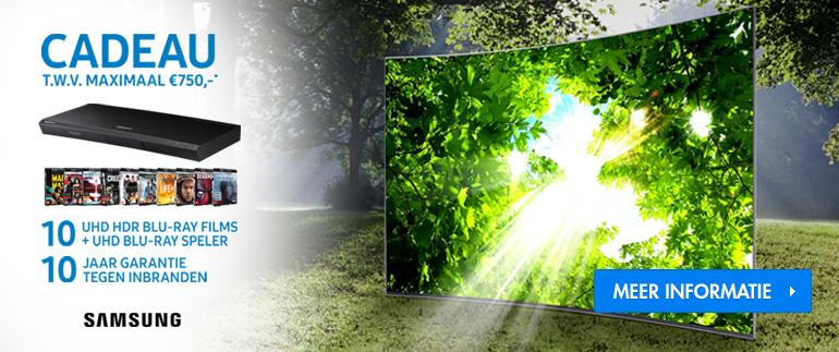 Samsung TV actie