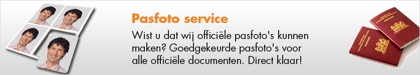 Pasfoto service bij Expert Dongen