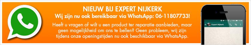 Expert Nijkerk bereikbaar via Whatsapp